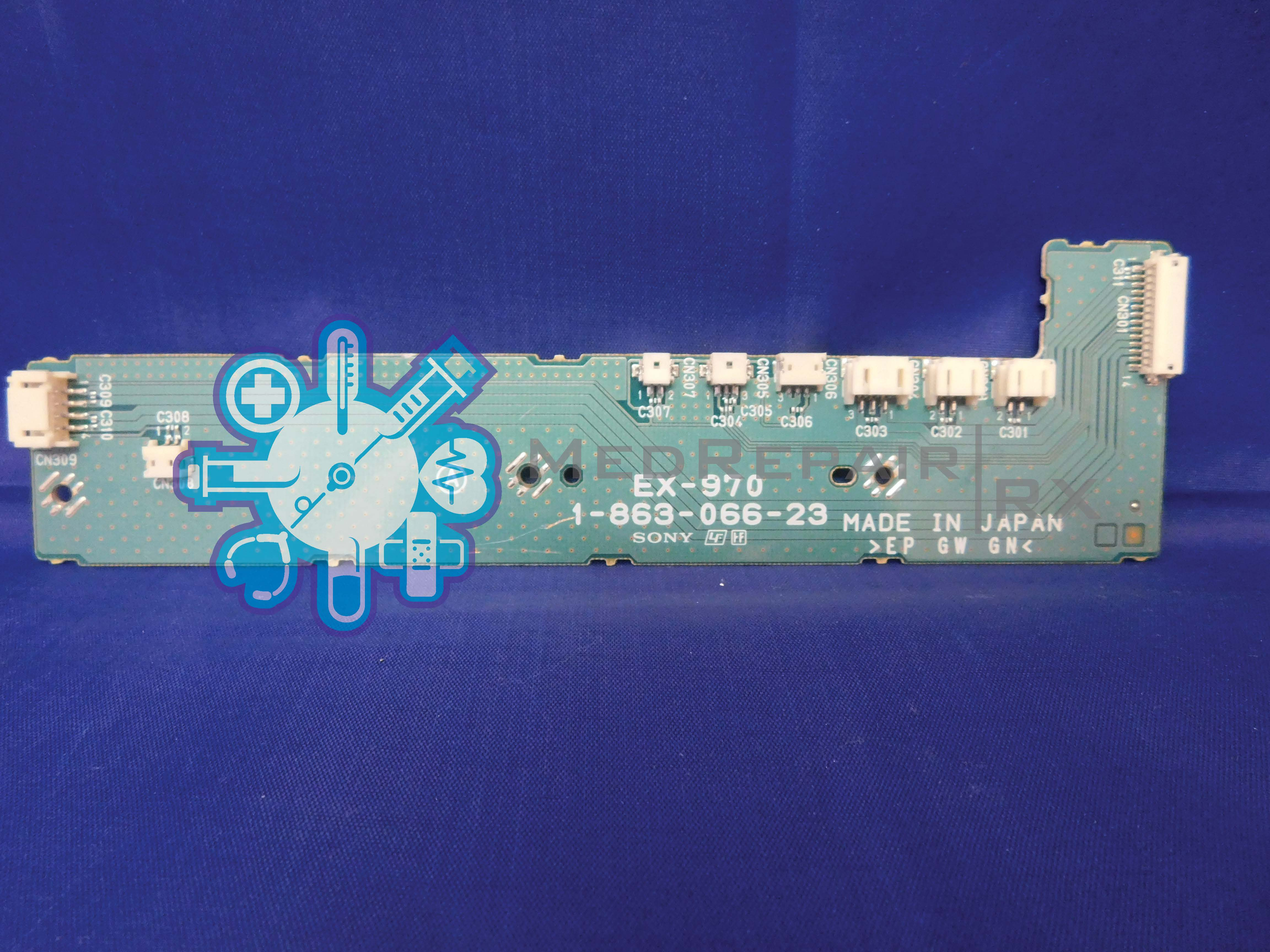 Sony OEP-4 Circuit Board EX-970 1-863-066-23 : MedRepair Rx, LLC